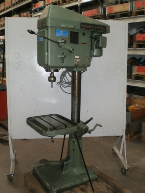 5818 - Threading Machine - HAGEN & GOEBEL - Type: 10/16
