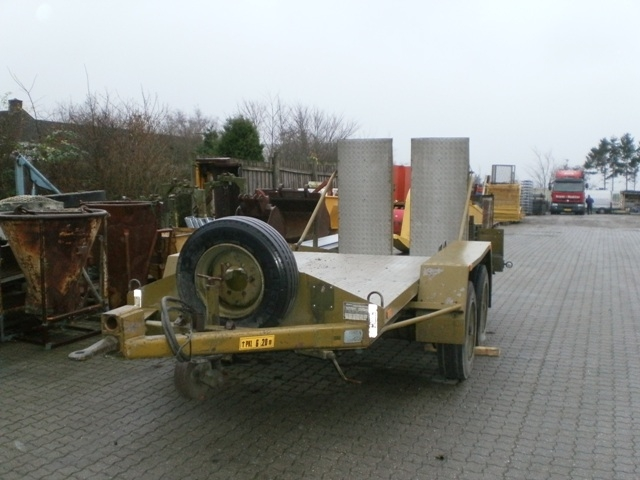 5755 - Machine Trailer - Low Loader - WABCO - Type: GMF 8,0