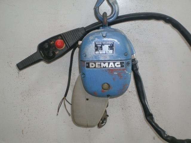 5993 - Hoist - Electric Chain Hoist - DEMAG - 125kg