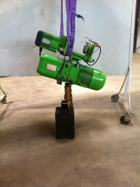 6400 - Electric Chain Hoist - STAHL - Type: T405 - 500/1000kg