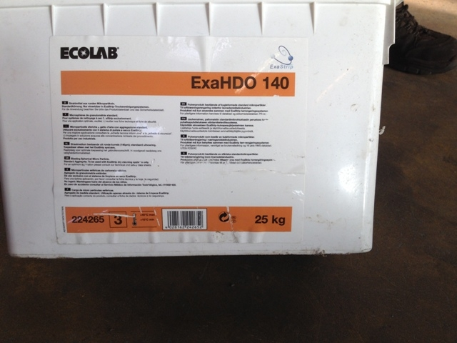 6506 - Ecolab Exa HDO 140 for Lime Blasting Plant
