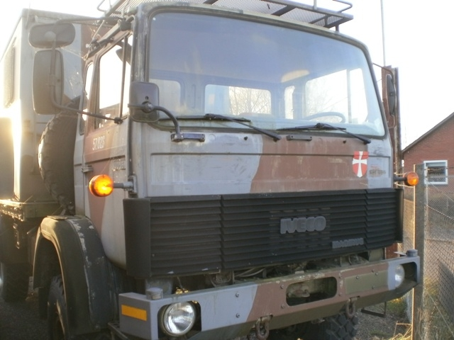 6386 - Truck - IVECO Magirus 168M11FAL 6.1 4x4 - Military