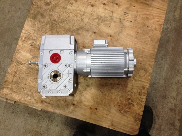 6710 - Flat Gear with Motor - OVITOR OY - Type: MJ7633
