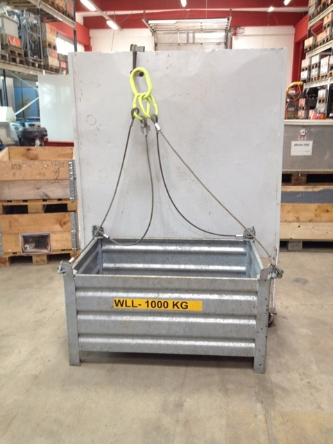 6786 - Galvanized Lifting Basked with Wire - HIJSSPECIALIST
