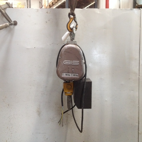 6824 - Electric Chain Hoist - GIS - Type: 25 - 320kg