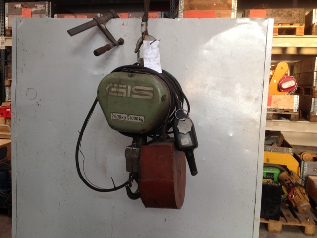 6893 - Electric Chain Hoist - GIS - Type: 100/F - 1000kg