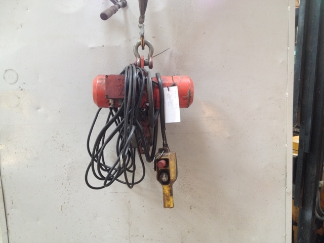 6896 - Electric Chain Hoist - SEW - Type: AK302DT71D4 - 250kg