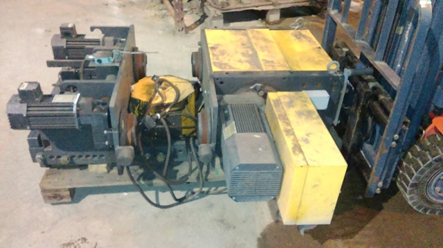 6901 - KONE Winch - Type: XL404N30BLA530B0KE - 7500kg
