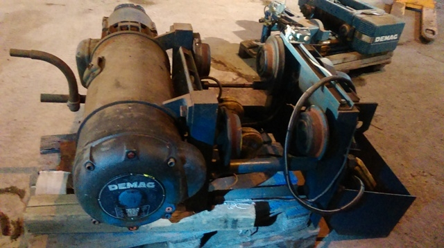 6915 - DEMAG Winch - Type: P412H11 - 5000kg