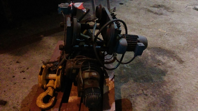 6916 - DEMAG Winch - Type: P212H11 - 5000kg