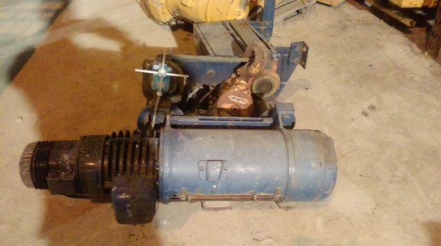 6972 - DEMAG Winch - Type: P - 5000kg