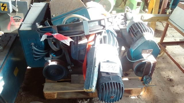 6996 - DEMAG Winch - Type: P30 - 6000kg