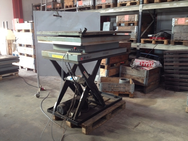 7105 - Lifting Table - Sax Table - Sax Lift A/S - Type: IL 3000S