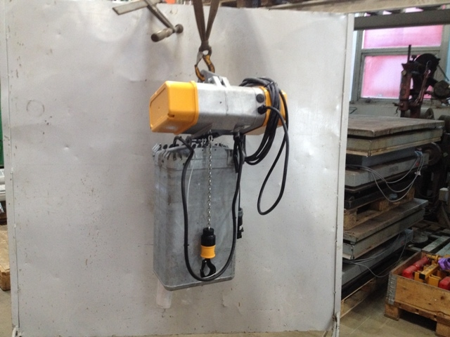 7114 - Windmill Hoist - Liftket - 250kg