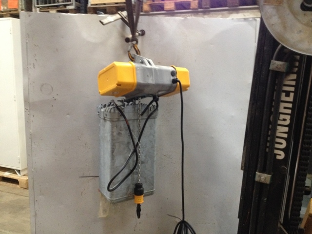 7115 - Windmill Hoist - Liftket - 250kg