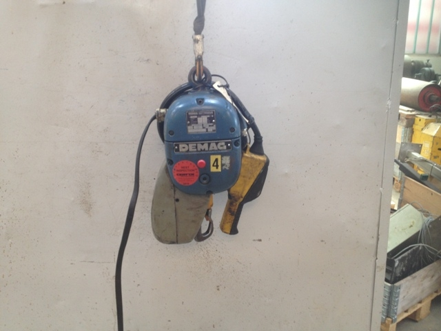7188 - Hoist - Electric Chain Hoist - DEMAG - 125kg