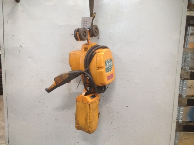 7191 - Electric Chain Hoist - Kito - 1000kg - With Electric Trolley