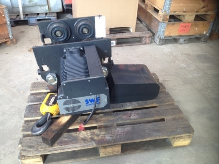 7431 - Electric Chain Hoist - SWF - 5,0 T with trolley