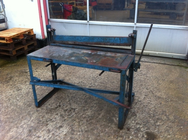 7464 - Plate Shear/Work Table