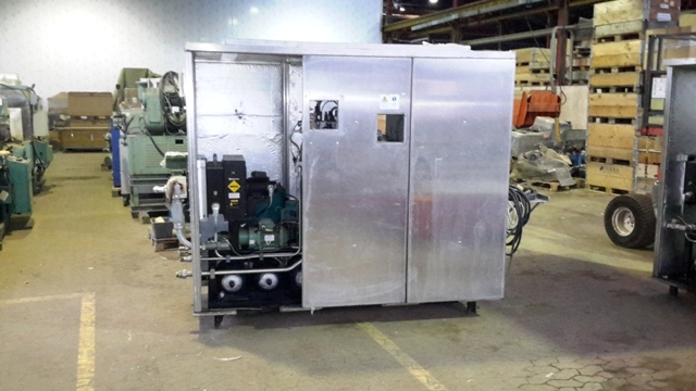 7363 - Hydraulikstation m / oil purifier and oil cooler