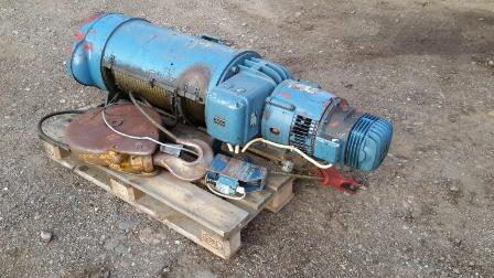 7842 - Demag, Winch for crane