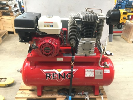 7718 - Compressor with HONDA Engine