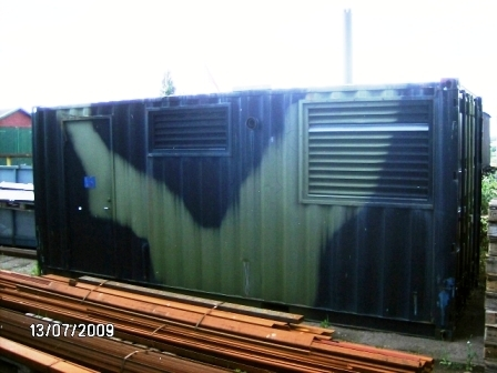 2188 - Generator System 2 x 60 KW in 20' Container