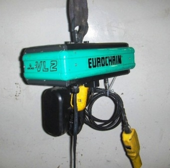 1582 - Verlinde Electrical Chain Hoists type VL-2