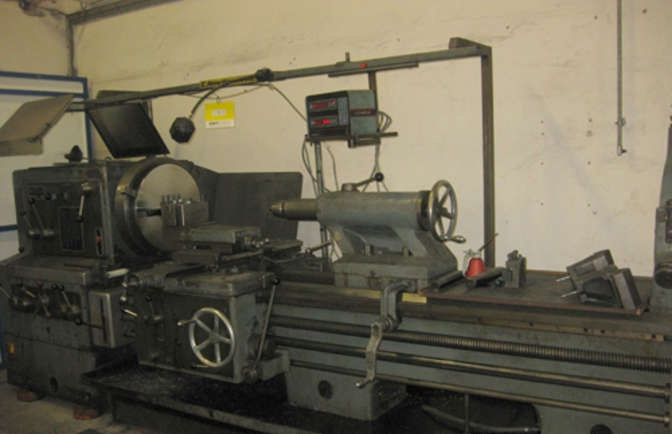 4391 - Lathe - Meuser & Co