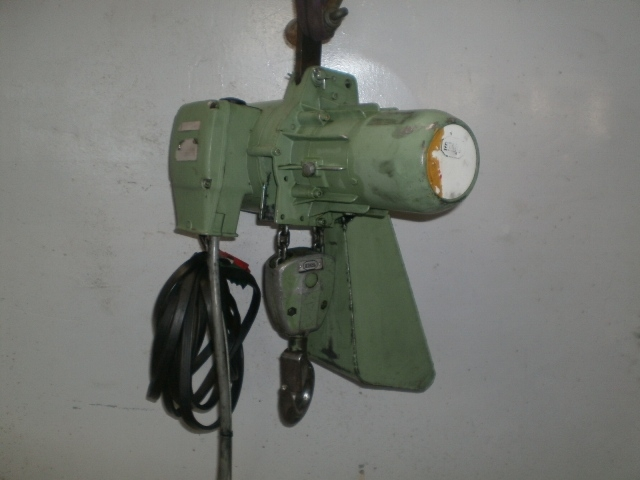 4942 - Hoist - Electric Chain Hoist - STAHL - Type: R2 - 300kg