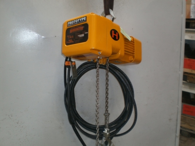 4967 - Hoist - Electric Chain Hoist - HARRINGTON - Type: ER2A-6005