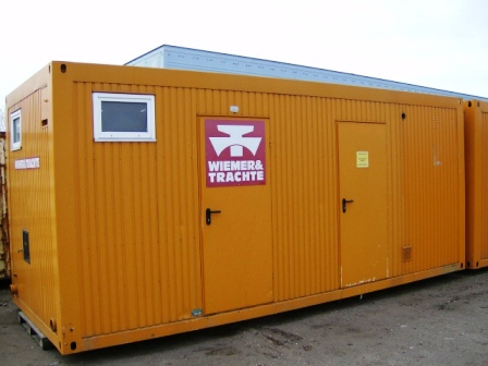 1216 - Sanitary module, 4 rooms, 20'